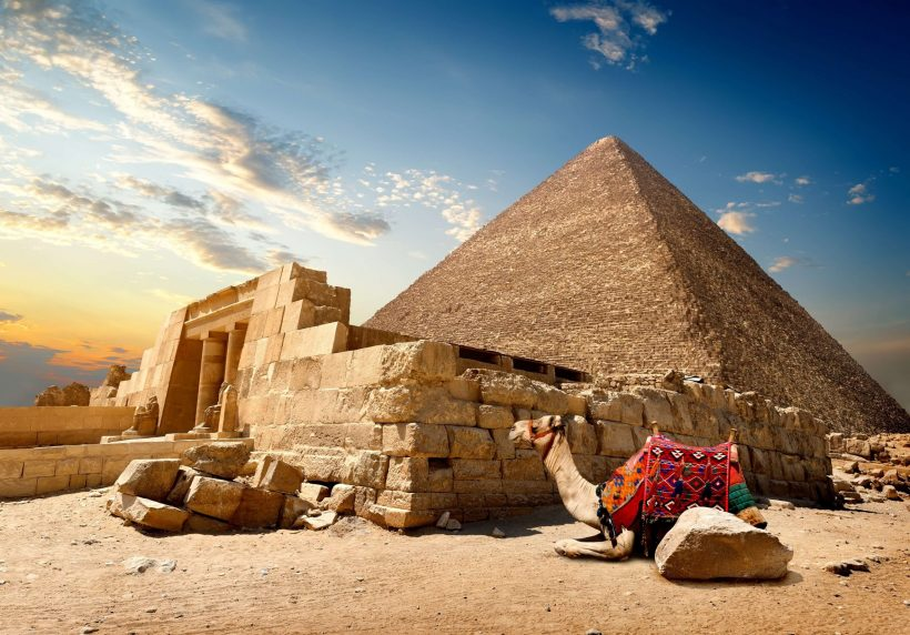 giza-pyramids-with-camel